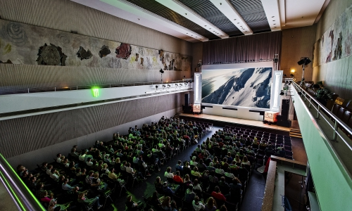 International Freeski Film Festival (iF3) 2012 in Innsbruck, AT